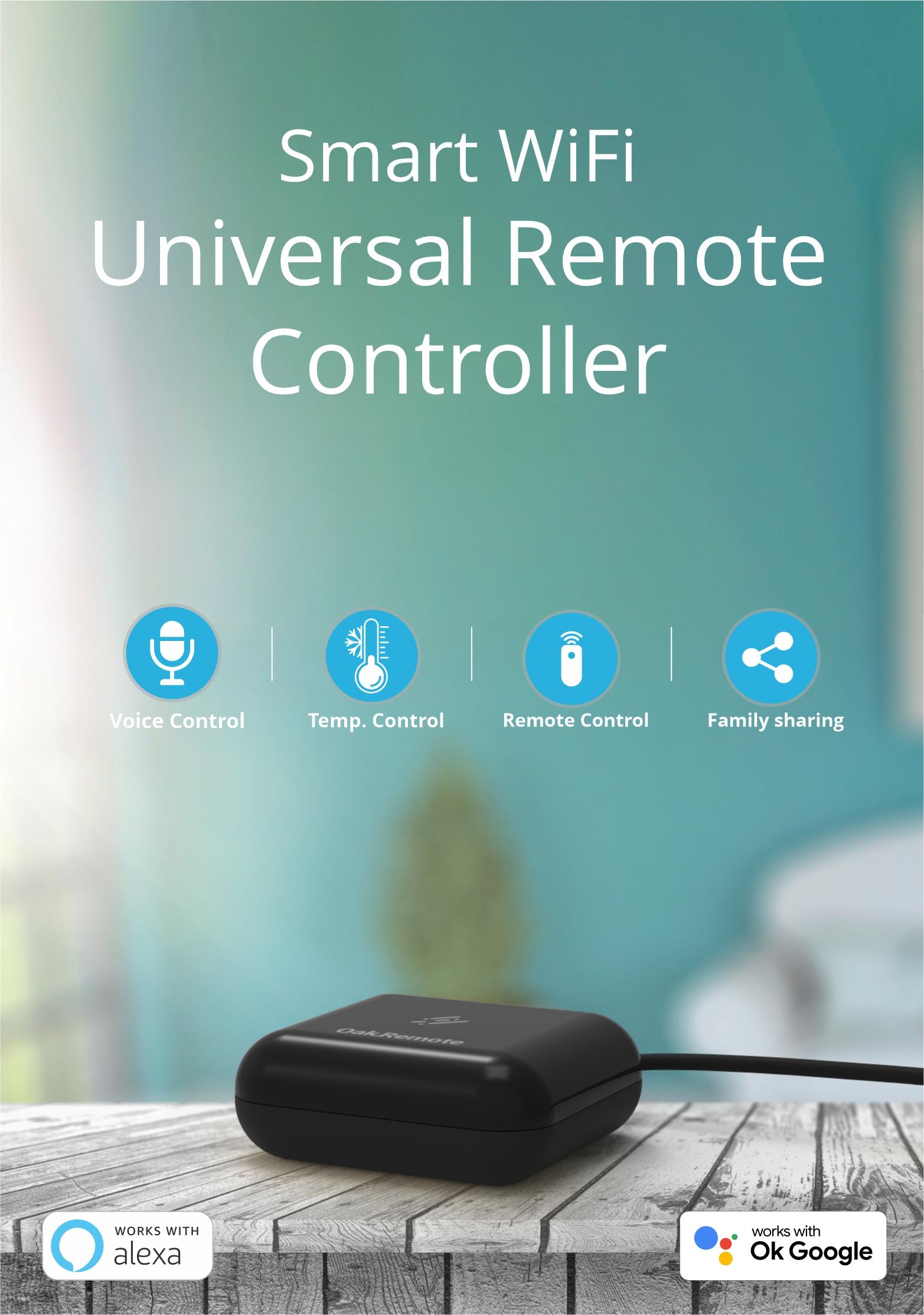 WiFi Universal Remote - Oakter