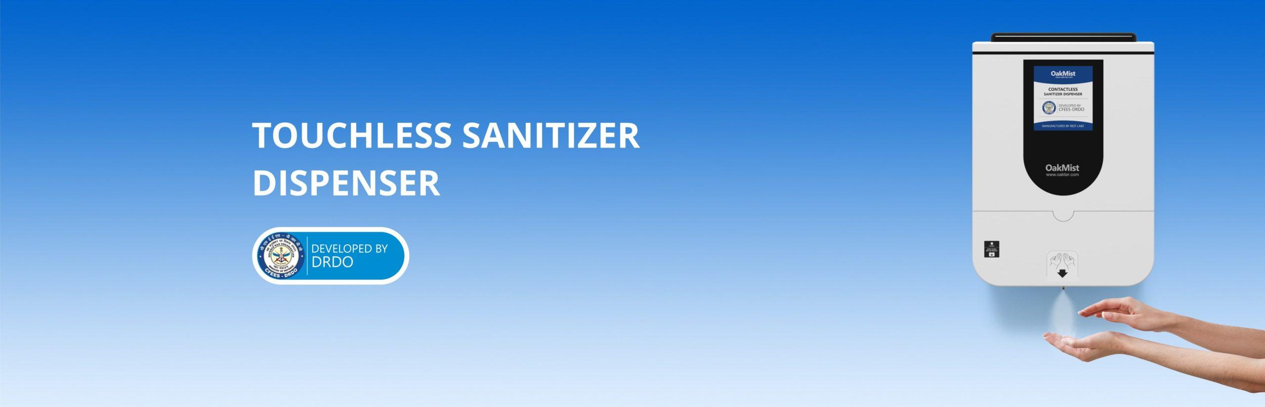OakMist: Touchless Sanitizer Dispenser (10 lts) by Oakter