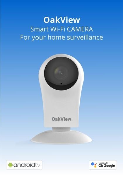 Indoor WiFi Camera - Oakter